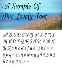 Alphabet Letter stencil #168  A - Z & numbers  2, 3, 4, 5 or 6cm sizes FREE POST