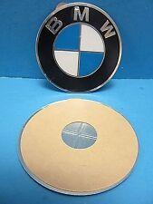 "1 Genuine Wheel Center Cap Emblems BMW OEM# 36136758569 70.0mm 2.7"" Adhesive DIY"