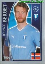 072 JO INGE BERGET NORWAY MALMO FF STICKER CHAMPIONS LEAGUE 2016 TOPPS