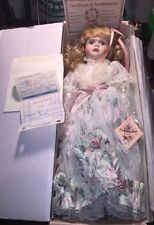 Vintage Hand Painted Porcelain Doll. Katelyn, Gallery Collection,Band/mbca, Rare