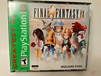 Final Fantasy IX (PlayStation 1 Greatest Hits, PS1 2000) VERY GOOD! COMPLETE!