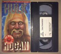 Hulk Hogan - The Missing Matches (VHS,1990) WWF WCW NWO WWE NWA AWA RARE