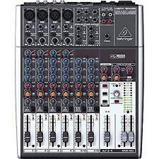 Behringer XENYX 1204usb 12-channel USB Mixer.