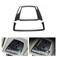 Carbon Fiber Reading Light Sticker Frame Cover Trim for BMW 5 F10 F07 F25 F26 X4