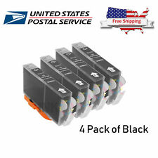 4 Packs Generic Black Ink For HP 920XL OfficeJet 6000 6500 6500a 7000 7500a INK