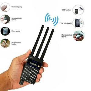 Anti Detector,Hidden Camera Lens Detector Bug Sweeper GPS RF Signal Finder