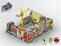 Modular Gebäude Sammlung - PDF Bauanleitung - kompatibel mit LEGO Steine