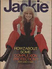 Jackie Magazine 27 November 1971 No.412  The Carpenters  Deep Purple Peter Noone