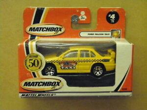 1:64 FORD FALCON TAXI Matchbox 95806