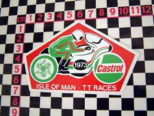 Isle Of Man TT 1973 Sticker Suzuki Honda Kawasaki Ducati Yamaha MV Agusta