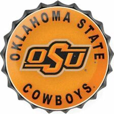"""Oklahoma State Cowboys Osu College Licensed Bottle Top Metal Sign 19"""" Made Usa"""