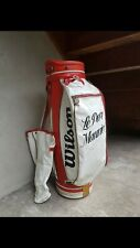 Sac De Golf Vintage Wilson Professionnel Cart Golf Bag WS