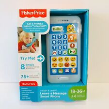 New Fisher Price Laugh & Learn Leave a Message Smart Phone, Puppy