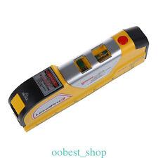 Vertical Horizontal Line Rule Laser Level Measuring Tape Levelling Instrument