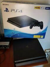 Sony Playstation 4 Slim 500GB Console con 1 DualShock 4 - Nera
