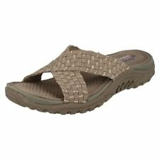 Skechers Textile Wedge Sandals & Beach Shoes for Women