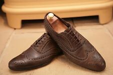 """Paul Smith """"Miller"""" HOMME EN CUIR MARRON Chaussures Chaussures Taille UK 7"""