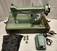 Vintage RARE Viatchetti Deluxe Sewing Machine Case SERVICED