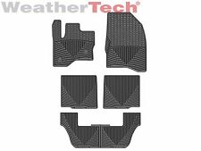 WeatherTech All-Weather Floor Mats - Ford Flex - 2011-2016 - Black