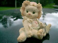 "Enesco Calico Kittens figurine ""Love's Special Delivery"" 1992"