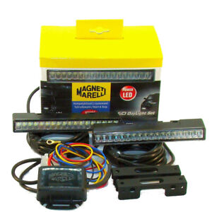 Tagfahrlicht Satz Tagfahrleuchte 12/24V LED DRL Magneti Marelli - Opel Volvo