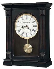 Howard Miller 635-187 (635187) Mia Mantel/Mantle/Shelf Clock - Worn Black