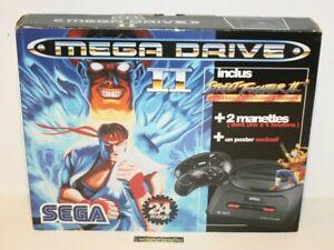 ++ console sega megadrive pack street fighter II 2 ++