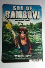 SON OF RAMBO  COVER ART MINI POSTER BACKER CARD (NOT a movie)