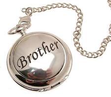 Pocket watch Brother design skeleton mechanism