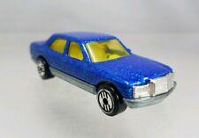 Hot Wheels Mercedes 380 SEL Blue Glitter UH Ultra Hots - 1992