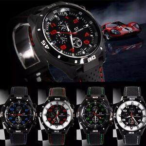 Quartz Cheap Watch Mens Watches Sports Wrist Boys Stainless Steel Silicon Strap