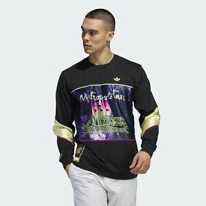 Adidas Men's Metropolitan Long Sleeve Tee, Black
