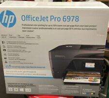 HP T0F29AB1H All-In-One Inkjet Printer Scanner Copier Officejet 6978 New