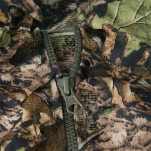 3D Leaf Adults Ghillie Suit Woodland Camo Camouflage Hunting Training Sniper AU