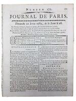 Etats Généraux 1789 Naissance Assemblée Nationale Noblesse Tiers État Broussonet