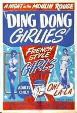 Ding Dong Girlies Poster 01 A4 10x8 Photo Print