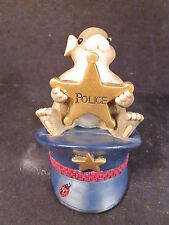 Charming Tails I'Ll Always Protect You 89/149 Mouse Police Hat & Badge