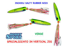 INCHIKU  JIG SALTY RUBBER VINCENT NJ 23 120 GR VERDE