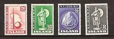 ICELAND # 213-6 MLH NEW YORK WORLD'S FAIR 1939