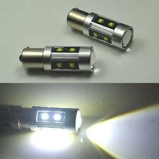 2x LED cree Projector12V White Car Bulb 1156 ba15s Tail DRL Brake Turn Lights