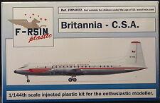 F-RSIN Models 1/144 BRISTOL BRITANNIA Czech C.S.A. Airlines