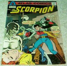 The Scorpion #2, NM- (9.2) 1975 Wrightson, Kaluta art, Atlas, 50% off Overstreet
