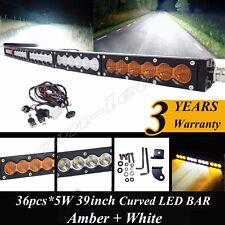 39Inch 180W CREE LED Work Light Bar Spot Flood Combo Fog Light Driving Light 4WD