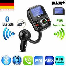 DAB+ Auto Radio Digital Empfänger Adapter Bluetooth FM Transmitter Ladegerät DE