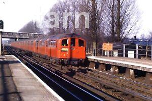 35mm slide London Transport Hillingdon station 1960s r152