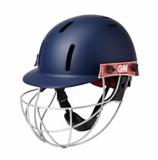 2020 Gunn & Moore Purist GEO II Navy Junior Cricket Helmet with Steel Grill