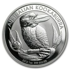 Perth Mint Australia $1 Kookaburra Dragon Privy 2012 1 oz .999 Silver Coin