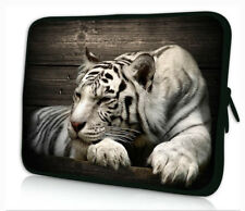 """17-17,3"""" LAPTOP SLEEVE CARRY CASE BAG 4 ALL LAPTOPS, FREE POST *Sleeping tiger*"""
