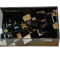 Paul's Model Art Minichamps LOTUS 72 1972 E. FITTIPALDI 1:43 Scale