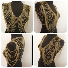 Womens Harness Body Chest Multiple layers Waist Chain Necklace Beach Bikini